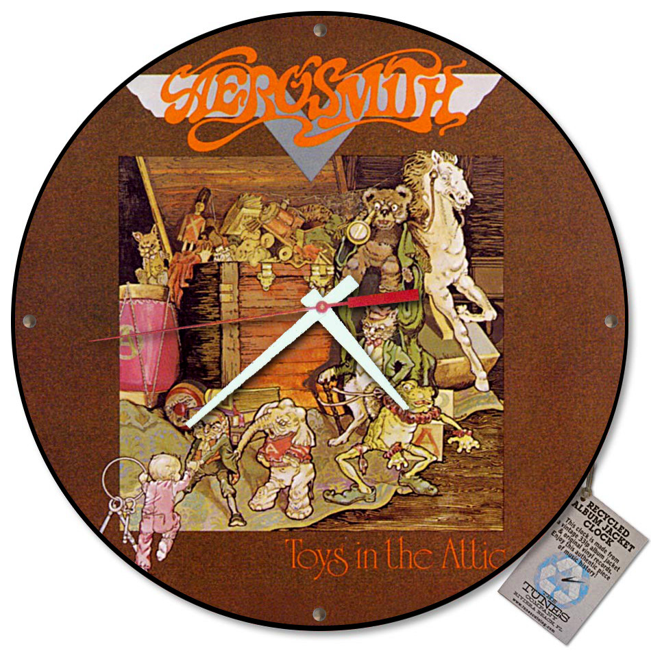 For that Aerosmith toys in the attic album that can