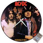 Authentic Vintage Album Cover Clocks Memorabilia Rock