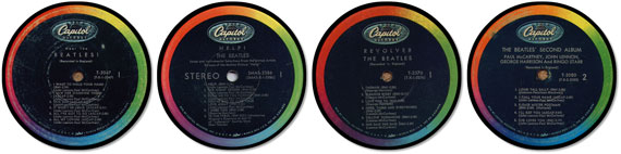 Beatles Early Recordings Special Album Coaster Collector Set