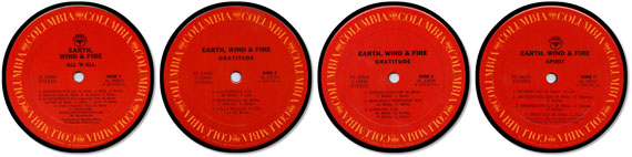 Earth Wind and Fire Special Album Coaster Collector Set